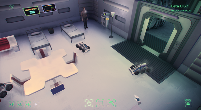 Maia game cleaning robot
