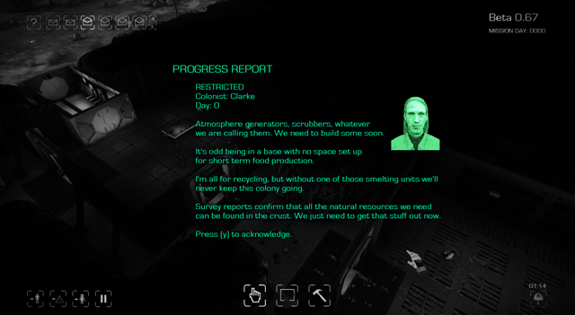 Maia game colonist emails